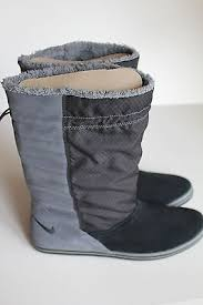 womens nike boots size 12 s nike facile boots 749526 001 black anthracite size 12