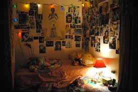 teenage bedrooms with lights