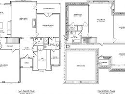 100 one level house plans with basement best 25 one level