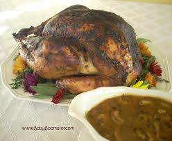 best roasted turkey with herb marinade and gravy recipe