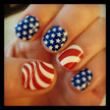 lush fab glam blogazine get patriotic with red white u0026 blue nail