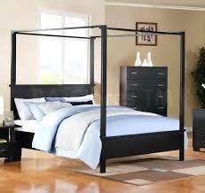 Black Canopy Bed Frame Canopy Bed Frame King Koupelnynaklic Info