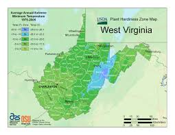 A Map Of West Virginia by When Can I Plant In West Virginia