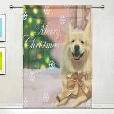 online get cheap christmas window curtains aliexpress com