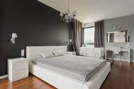 Black Painted Walls Bedroom Dark Accent Wall Bedroom Low Profiles Black Painted Wooden