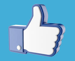facebook like thumb up hand icon 3d cgtrader