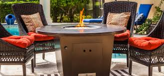 the cyprus fire pit table firetainment
