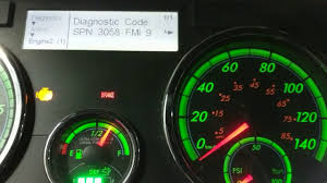 freightliner cascadia warning lights reading fault codes from a cascadia dash pt 3 youtube