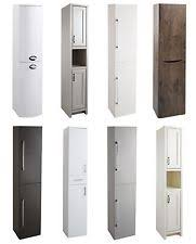Bathroom Tall Cabinet by Bathroom Tall Cabinets Ebay