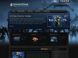 it gamerzone joomla k2 template for gaming video game club xbox