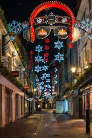 Christmas Decorations With Lights Uk by Christmas Decorations On Carnaby Street London Uk U2013 Stock