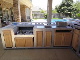 Simple Outdoor Kitchen Ideas Simple Outdoor Kitchen Cabinets Polymer Good Home Design Interior