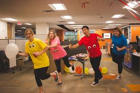 Pacman Halloween Costume Pac Man Costumes Hallowee Spiceworks Office Photo Glassdoor