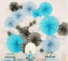 mariage decoration paper fan 3pcs lot 20cm wholesale retai tissue