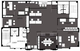 splendid modern office design floor plans home office modern