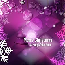 christmas sparkles dark purple background template 123freevectors