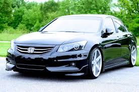 honda accord 2011 custom 8 5 honda accord sedan on vossen vvs cv4 dropped low
