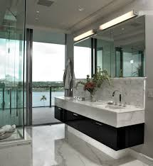 bathroom ideas double sink floating bathroom vanity with two double sink floating bathroom vanity under two frameless mirrors and wall sconces also glass door