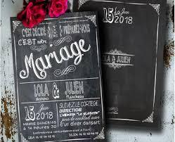 faire part mariage vintage part mariage vintage ardoise pizarra