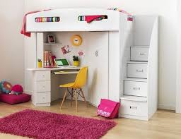 Bunk Bed With Storage And Desk Bunk Beds With Stairs And Desk Diverting Bed Underneath Storage