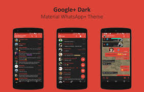 themed material whatsapp plus theme darkmaterial gplus plus 2