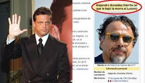 Memes Luis Miguel - luis miguel cambian artículo de alejandro gonzález iñárritu en