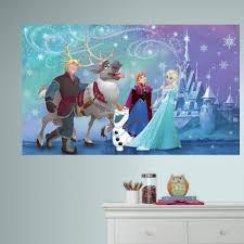 Disney Frozen Bedroom by Disney Frozen Peel And Stick Wall Mural Roommates