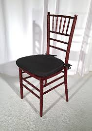 mahogany chiavari chair event seating at great southern events party and event rentals