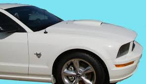 2009 ford mustang accessories ford mustang scoop 2005 2009 factory style painted ford