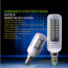 heat generating light bulbs e27 led candle bulb corn l 24 36 48 56 69 72leds energy saving
