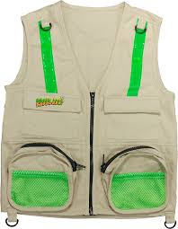 amazon com eagle eye explorer cargo vest for kids with