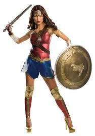 plus size superhero halloween costumes wonder woman leotard with puff hanger child buycostumes com