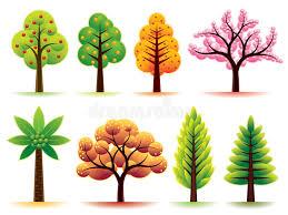 modern trees stock photo image 10151390