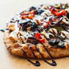 Roasted Vegetable Recipe by Roasted Vegetable Naan Pizza