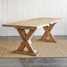 Farm Table Woodworking Plans by Trestle Table Woodworking Plans Trestle Table Base Fcf