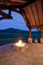 Fire Columns For Patio 55 Luxurious Covered Patio Ideas Pictures