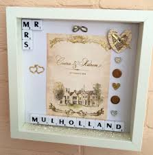 personalised wedding gifts wedding memory frame personalised wedding gift wedding
