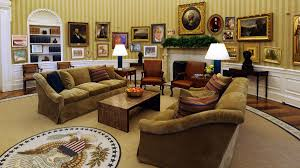 Oval Office Through The Years by White House Running Out Of Paintings To Cover Spots Where Obama