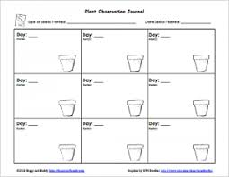 gardening with kids planting seeds with free printable buggy