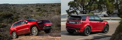land rover discovery sport 2016 head to head 2016 jeep grand cherokee vs 2016 land rover