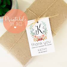 bridal shower favor tags printable bridal shower favor tags from my shower to yours