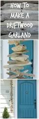 get the beach house look with this driftwood garland summer