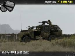 land rover mod h u0026k gmg wmik land rover image project reality arma 2 mod for