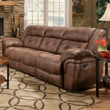Motion Recliner Sofa by Simmons Upholstery Wisconsin Beautyrest Sofa Chocolate Hayneedle