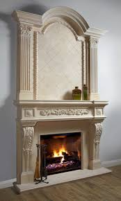 parisian majestic stone fireplace mantel mantelsdirect com