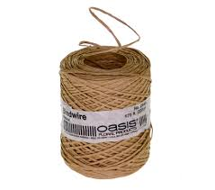 brown floral wire bind wire individual pack 673 2056240na 12 95