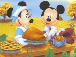 free thanksgiving disney feast mickey minnie mouse turkey dinner
