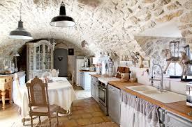 deco maison rustique cuisine cuisine campagne elle dã coration cuisine style