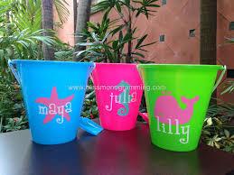 personalized buckets personalized pail