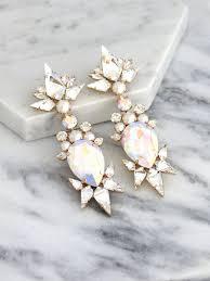 Chandelier Earrings Etsy Best 25 Bridal Chandelier Earrings Ideas On Pinterest Fashion